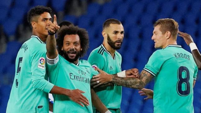 ريال مدريد يخطف الصدارة من البرسا بفوز مثير للجدل على حساب ريال سوسيداد