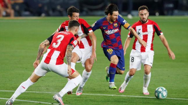 برشلونة بآداء شاحب يخطف انتصارا صعبا من بلباو العنيد ويترقب تعثر ريال مدريد ضد مايوركا