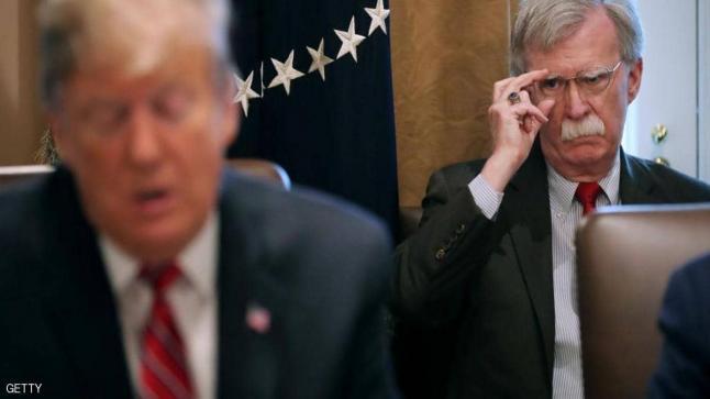 بولتون يكشف أول أسرار ترامب