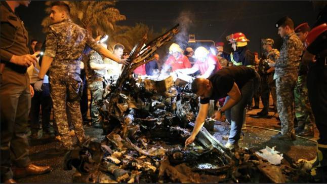 هجوم انتحاري يهز منطقة الكرادة بالعاصمة العراقية ويخلف وراءه عشرات القتلى والجرحى
