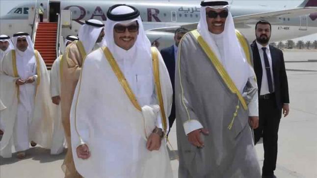 أمير دولة الكويت يتسلم الرد القطري على مطالب الدول الأربع المقاطعة لدولة قطر