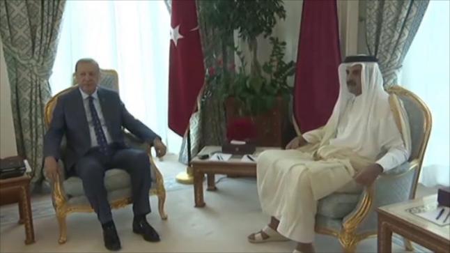 تميم وأردوغان يبحثان في الدوحة الأزمة الخليجية والعلاقات الثنائية بين البلدين