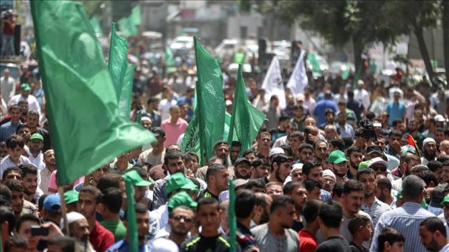 مئات الفلسطينيين يخرجون في شمال قطاع غزة لإبراز دعمهم للمسجد الأقصى والمقدسيين
