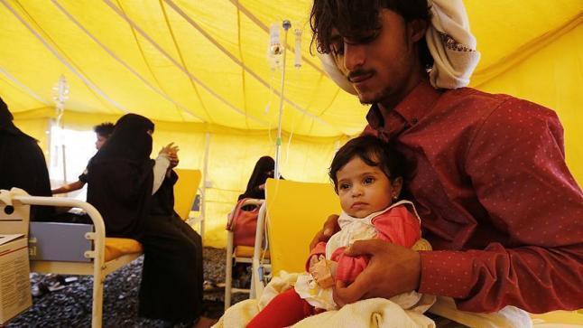 منظمة الصحة العالمية تكشف عن ارتفاع حالات الوفاة في اليمن جراء الكوليرا إلى 1992 حالة