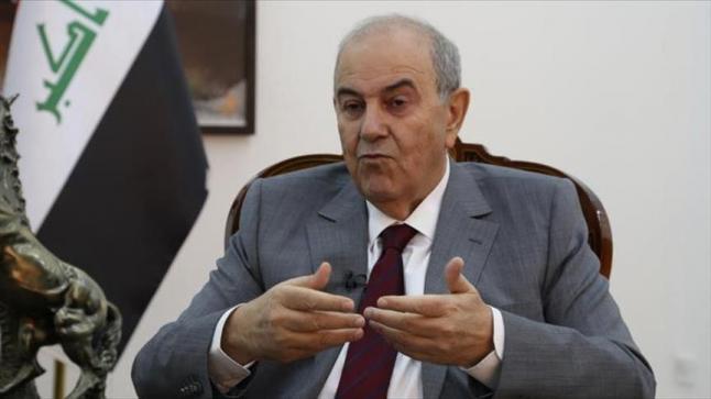إياد علاوي يدعو للتدخل العاجل من الأمم المتحدة والمجتمع الدولي ضد قرار ترامب حول القدس
