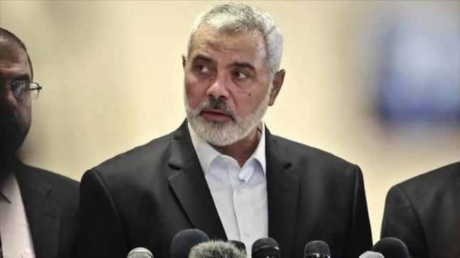 اسماعيل هنية يبحث خلال اتصالع بنائب وزير الخارجية الروسي عدد من القضايا الفلسطينية