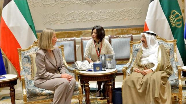 موغيريني تصل إلى الكويت لدعم جهود الوساطة الكويتية لحل الأزمة الخليجية