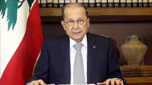 الرئيس اللبناني يحذر خلال مقابلته قيادات من حركة حماس من ممارسات السلطات الإسرائيلية