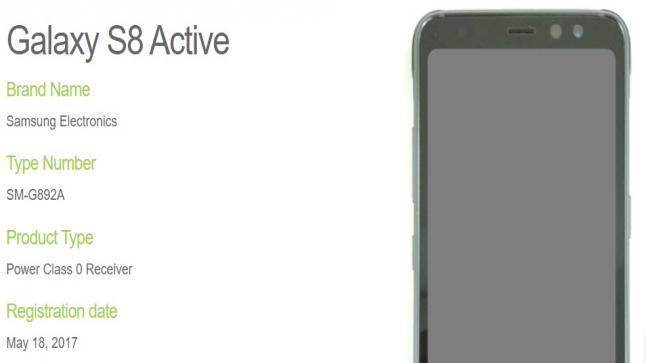 سامسونج تكشف عن إصدار نسخة Active من هاتف Galaxy S8