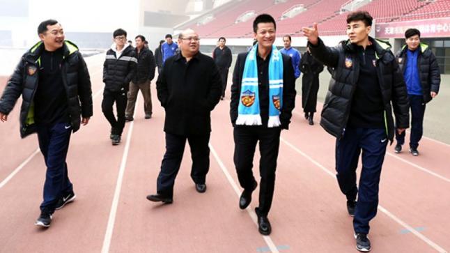 تيانجين الصيني يعلن عن الحصول على موافقه شفهية من اللاعب الجديد
