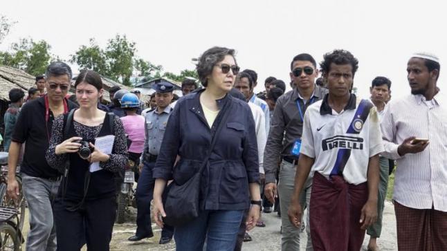 مسؤولة أممية تلقي باللوم على حكومة ميانمار في التقاعس عن وقف أعمال العنف بحق الروهينجا