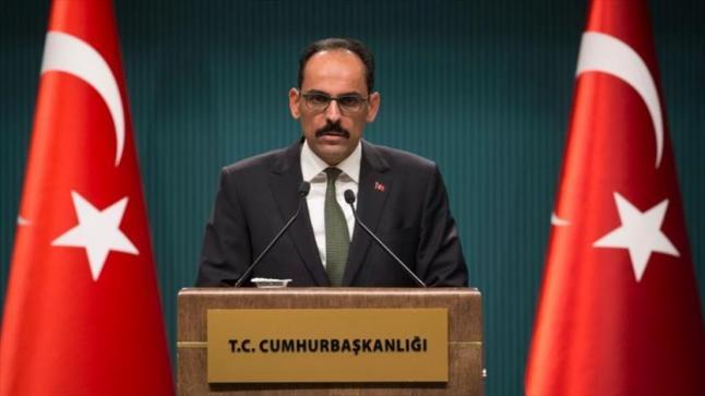 المتحدث باسم الرئاسة التركية يكشف عن مؤسسات أمريكية تحرف تصريحات دونالد ترامب