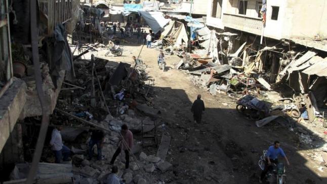 ريف دمشق وإدلب يشهد المزيد من القصف الروسي السوري