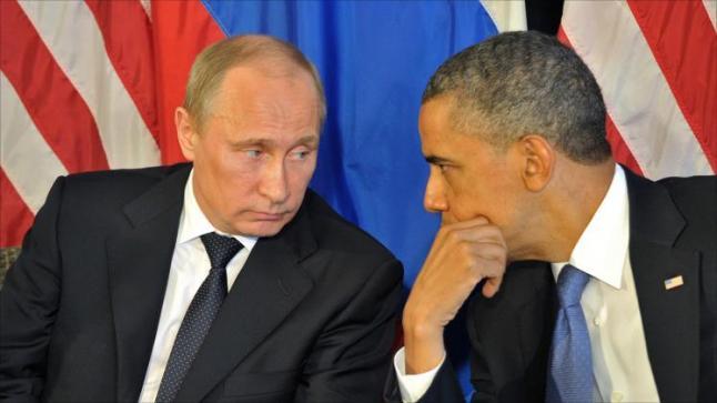 بوتين يغازل ترامب بعد طرد أوباما لدبلوماسيين روس وترامب يمتدحه
