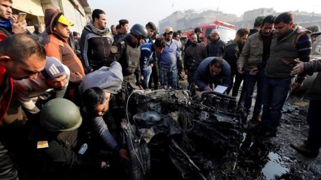 داعش يتبنى تفجيرا استهدف مدينة الصدر العراقية