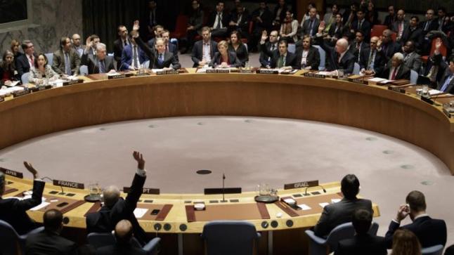 قرار مجلس الأمن بادانة الإستيطان في الضفة يسبب ردود فعل ترحيبية
