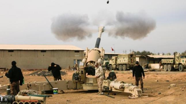 العراق:القوات العراقية تقصف الموصل وتفجيرات تضرب الرمادي وديالي