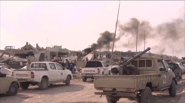 هجوم مباغت لتنظيم الدولة على قوات البنيان المرصوص