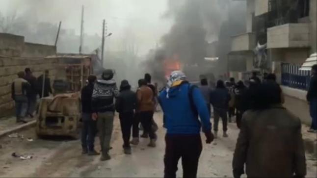 مدينة إعزاز السورية تشهد انفجارا دمويا