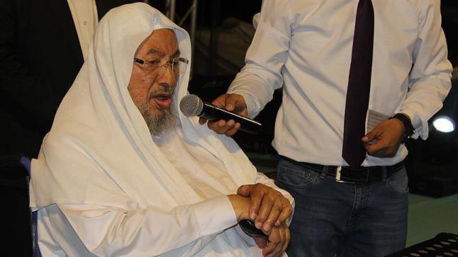 حزب المؤتمر الشعبي السوداني يستنكر إدراج الشيخ يوسف القرضاوي وحركة حماس على قوائم الإرهاب