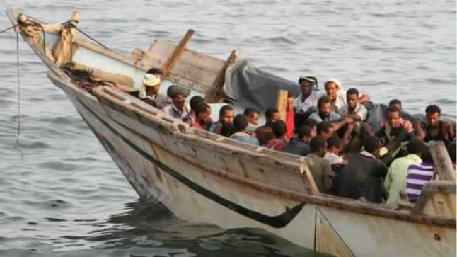 مقتل وفقدان عشرات المهاجرين الأفارقة في بحر العرب خلال رحلتهم إلى اليمن