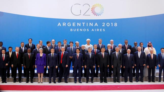 مجموعة العشرين تتعهد بتمويل مكافحة فيروس كورونا بمساعدات قيمتها 21 مليار دولار