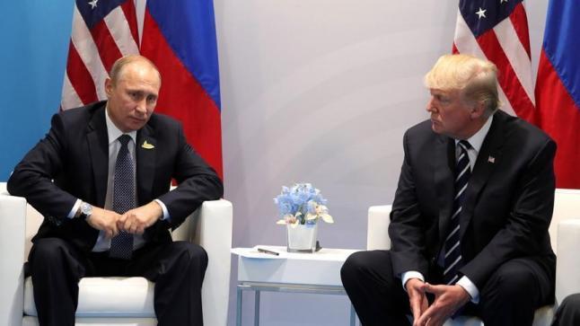 مسؤول أمريكي يكشف عن لقاء غير معلن بين ترامب وبوتين على هامش قمة العشرين