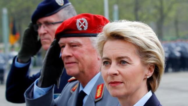 وزيرة الدفاع الألمانية تنفي اتخاذ ألمانيا لقرار نقل القوات الألمانية من قاعدة إنجرليك التركية