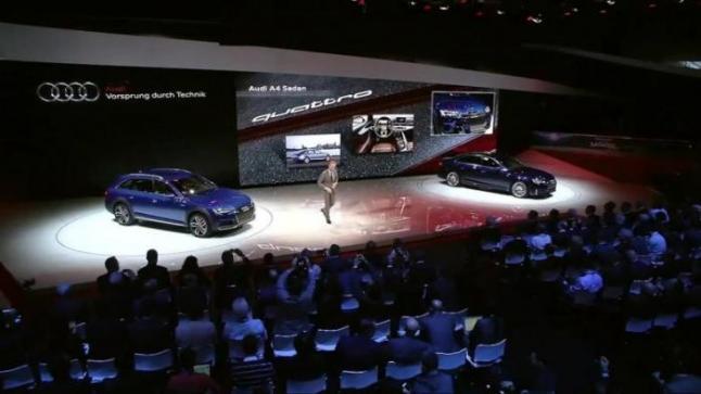 بالفيديو التكنولوجيا الحديثة تسيطر على معرض ديترويت الدولي للسيارات