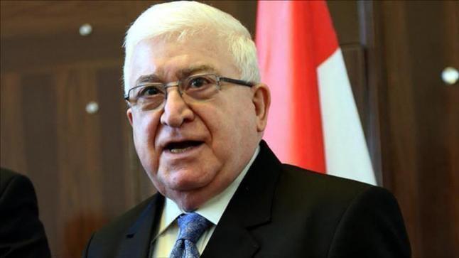الرئيس العراقي يعتبر الأموال التي دفعتها قطر لتحرير مواطنيها المختطفين في العراق ملكا لبلاده