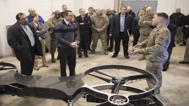 الجيش الأمريكي يكشف عن الموتوسيكل الطائر بعد نجاح تجربة المركبة الطائرة