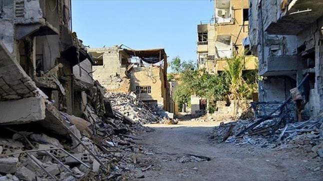 مصادر طبية تكشف عن استهداف حي جوبر الدمشقي بغاز الكلور السام