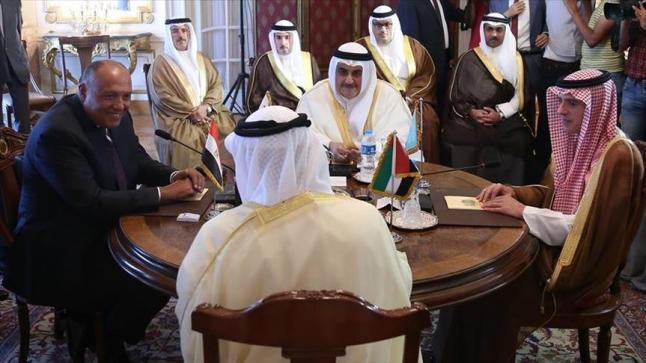 الدول الأربع المقاطعة لقطر تصدر بيانا مشتركا يكتفي بتحذير قطر دون اتخاذ قرارات تصعيدية