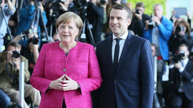 اصلاح الاتحاد الأوروبي محور اهتمام الرئيس الفرنسي والمستشارة الالمانية خلال مباحثاتهما في برلين