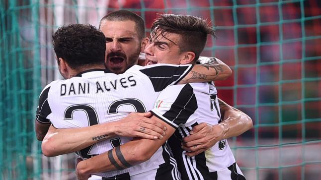 يوفنتوس يحسم لقب كأس إيطاليا للمرة الثالثة على التوالي