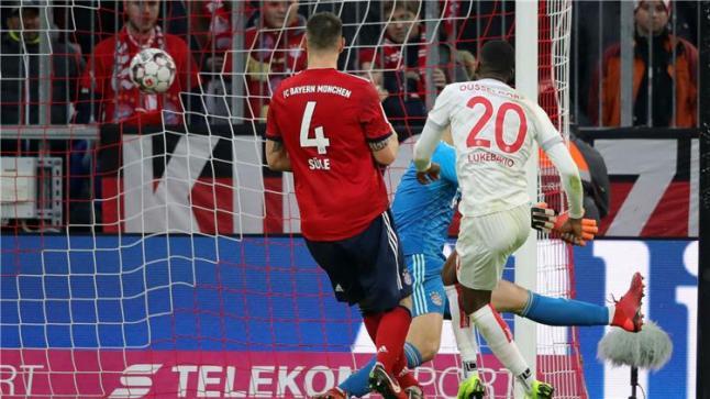 أقتراب بايرن ميونيخ من حسم لقب الدوري الألماني
