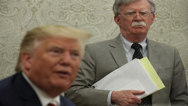 دعوة قضائية ضد بولتون من أدارة الرئيس الأمريكي