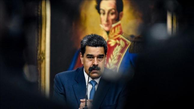 """"""" متجاهلاً دعوته للتخلي عن السلطة"""" مادورو يقبل الحوار مع ترامب"""