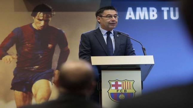رئيس برشلونة يحدد موعد الكشف عن المدرب الجديد