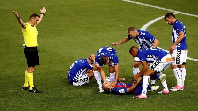 ماسكيرانو يغيب لمدة 6 أسابيع بسبب الإصابة أمام الآفيس