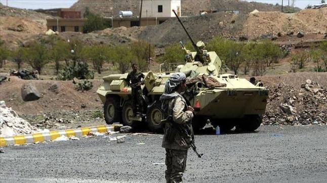 يشن الجيش اليمني هجوم واسع على الحوثيين داخل الجوف