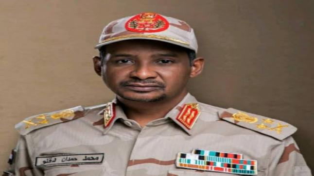 يجري النائب رئيس مجلس سيادة السودان أول زيارة إلي أثيوبيا