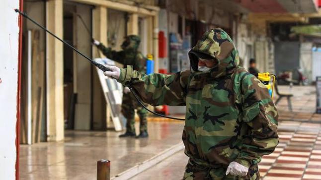 إصابة 105 من منتسبي الدفاع المدني و الضباط بفيروس كورونا في العراق