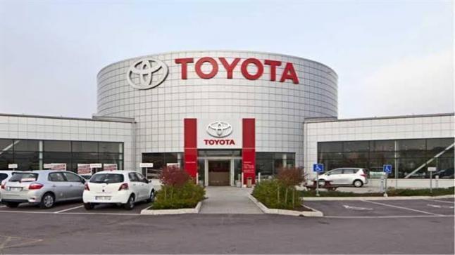 زيادة إنتاج سياراة تويوتا في يوليو المقبل بنسبة تصل إلى ٩٠%