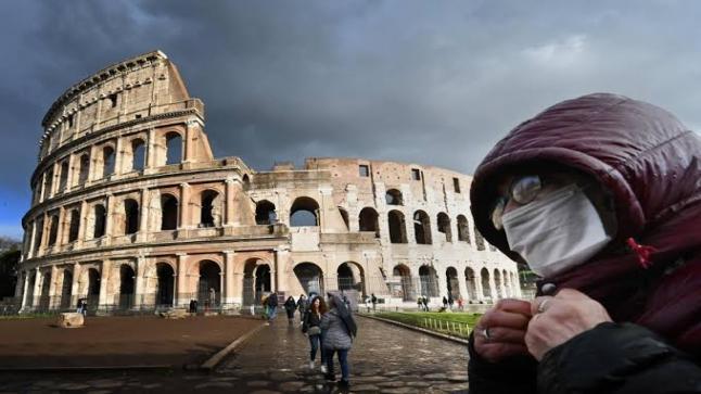 للمرة الأولى ايطاليا تسجل 55 حالك وفاة خلال 24 ساعة
