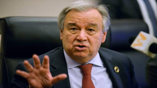 الأمين العام لمنظمة الأمم المتحدة: تصاعد العنف ضد المرأة خلال فترة فيروس كورونا