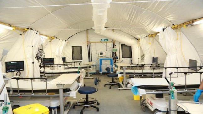 """""""السعودية""""أستحداث خيمتين خاصة بالأطباء لاستقبال أي حالة مشتبه بها بكورونا"""