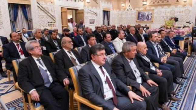 الرياض تشهد إعلان المعارضة السورية دعم محادثات السلام في أستانا