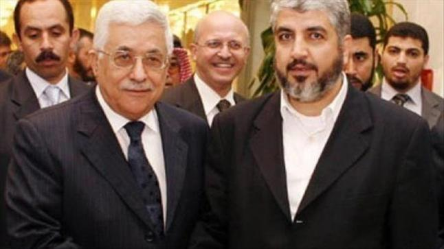 أبو مازن يبحث تطورات قضية القدس وملف المصالحة الفلسطينية مع خالد مشعل